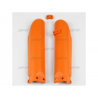 KTM SX 85-04/16-PAIRE PROTECTIONS DE FOURCHE UFO-ORANGE-78535753