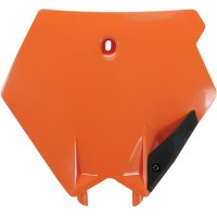 KTM SX-125-200-250-450-525-03/06-PLAQUE FRONTALE UFO- ORANGE-78522353