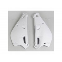 YAMAHA YZ 80-93/01-PLAQUES LATERALES UFO BLANC-78427714