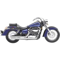 HONDA VT 750 CS SHADOW / AERO-04/07-SILENCIEUX LIGNE ECHAPPEMENT CHROME 2/1 COBRA-1810-0400