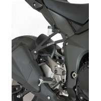 KAWASAKI Z1000-10/18 / Z1000 SX-11/13 - PAIRE SUPPORTS ECHAPPEMENT R&G RACING- EH0054BK