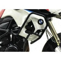 BMW F800 GS-08/18 / 650 GS-08/11 - PROTECTIONS LATERALES ALUMINIUM NOIR-441650