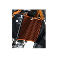 KTM 690 DUKE / R-13/18 - PROTECTION DE RADIATEUR D' EAU R&G-ORANGE- RAD0127OR