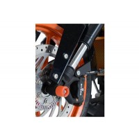 KTM 125-390 DUKE- PROTECTIONS DE FOURCHE R&G RACING-ORANGE- FP0106OR