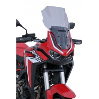 HONDA AFRICA TWIN CRF 1100 L - 2020 - BULLE HAUTE TOURING ERMAX GRIS CLAIRE- TO01T11