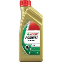 HUILE SEMI-SYNTHETIC 2 TEMPS 1 LITRE POWER 1 SCOOTER CASTROL-2208240