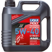 HUILE 4 TEMPS 4 LITRES SYNTHESE 5W40 STREET RACE LIQUI MOLY-1685
