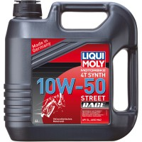 HUILE 4 TEMPS 4 LITRES SYNTHESE 10W50 STREET RACE LIQUI MOLY-1686