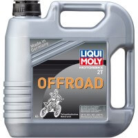 HUILE 2 TEMPS 4 LITRES SEMI-SYNTHETIC OFF ROAD OIL LIQUI MOLY-3066