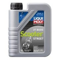 HUILE 2 TEMPS 1 LITRE BASIC SCOOTER STREET OIL LIQUI MOLY-1619