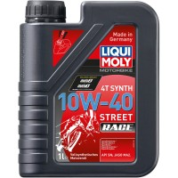 HUILE 4 TEMPS 1 LITRE SYNTHESE 10W40 STREET RACE LIQUI MOLY-20753