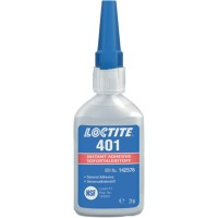 LOCTITE 401 INSTANT ADHESIVE LOW VISCOSITY TUBE 3GR CLEAR-195904