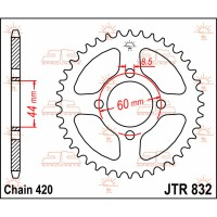 COMPATIBLE DT / DTR / DTMX / FS1 / TY / X-LIMIT SM - COURONNE  - JTR832