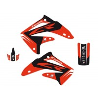 HONDA CR 85 R-02/07- KIT DÉCO BLACKBIRD DREAM GRAPHIC 4 - 2119N