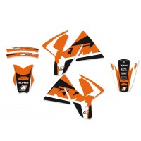 KTM SX SXF / EXC EXC-F-98/00- KIT DÉCO BLACKBIRD DREAM GRAPHIC 4- 2534N
