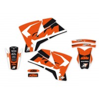 KTM SX SXF-01/04 / EXC EXC-F-03/04 - KIT DÉCO BLACKBIRD DREAM GRAPHIC 4 - 2517N