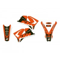 KTM SX SXF-05/06 / EXC EXC-F-05/07- KIT DÉCO BLACKBIRD DREAM GRAPHIC 4 - 2526N