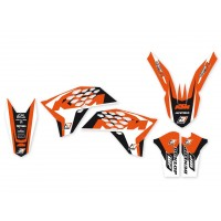 KTM SX SXF-07/10 / EXC EXC-F-08/11-KIT DÉCO BLACKBIRD DREAM GRAPHIC 4 - 2527N