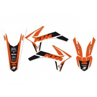 KTM SX SXF-11/12 / EXC EXC-F-12/13- KIT DÉCO BLACKBIRD DREAM GRAPHIC 4 - 8537N