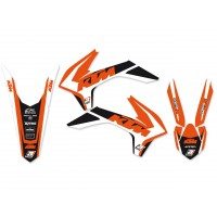 KTM SX SXF-13/15 / EXC EXC-F-14/16 - KIT DÉCO BLACKBIRD DREAM GRAPHIC 4 - 8538N