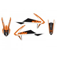 KTM SX SXF-16/18 / EXC EXC-F-17/19 - KIT DÉCO BLACKBIRD DREAM GRAPHIC 4 - 2541N