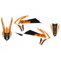 KTM SX SXF-2019 - KIT DÉCO BLACKBIRD DREAM GRAPHIC 4 - 2547N