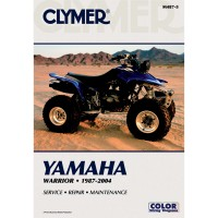 YAMAHA YFM 350 RAPTOR / WARRIOR - REVUE TECHINIQUE CLYMER - 4201-0068