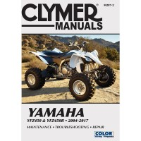 YAMAHA YFZ 450 / R  - REVUE TECHINIQUE CLYMER - 4201-0384