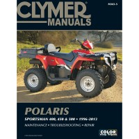 POLARIS 400-450-500 - 96/13  - REVUE TECHINIQUE CLYMER - 4201-0392