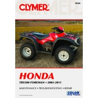 HONDA 500 TRX - 05/11  - REVUE TECHINIQUE CLYMER - 4201-0331