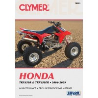 HONDA 450 TRX R / ER - 04/09 - REVUE TECHINIQUE CLYMER - 4201-0330