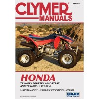 HONDA 400 TRX X / EX - 99/14 - REVUE TECHINIQUE CLYMER - 4201-0398