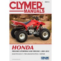 HONDA 250 TRX X / EX - 01/12 - REVUE TECHINIQUE CLYMER - 4201-0332