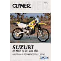 SUZUKI DRZ 400 E / S / SM -00/08  - REVUE TECHINIQUE CLYMER - 4201-0196