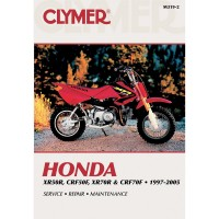 HONDA CRF XR 50-70 - REVUE TECHNIQUE CLYMER - 4201-0135