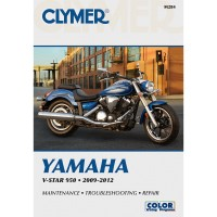 YAMAHA 950 V-STAR - 09/12 - REVUE TECHNIQUE CLYMER - 4201-0382