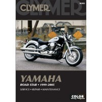 YAMAHA XV 1600-1700 ROAD STAR - 99/05 - REVUE TECHNIQUE CLYMER - 4201-0099