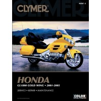 HONDA GL 1800 GOLDWING - 01/05 - REVUE TECHNIQUE ANGLAIS CLYMER - 4201-0148