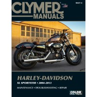 HARLEY DAVIDSON XL SPORTSTER - 04/13  - REVUE TECHNIQUE ANGLAIS CLYMER - 4201-0397