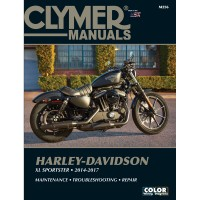 HARLEY DAVIDSON XL SPORTSTER - 14/17  - REVUE TECHNIQUE ANGLAIS CLYMER - 4201-0352
