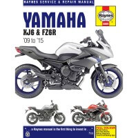 YAMAHA 600 XJ6 / DIVERSION - REVUE TECHNIQUE ANGLAIS HAYNES - 4201-0370