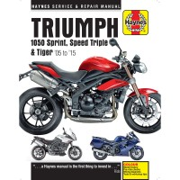 TRIUMPH 1050 SPEED TRIPLE / TIGER / SPRINT - REVUE TECHNIQUE ANGLAIS HAYNES - 4201-0296