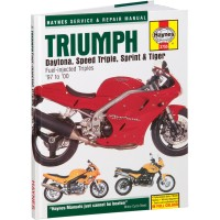 TRIUMPH 955 SPEED TRIPLE / TIGER / SPRINT - REVUE TECHNIQUE ANGLAIS HAYNES - HM-3755