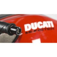 DUCATI 796-1100 MONSTER 1098 STREETFIGTHER - EMBOUTS DE GUIDON R&G - BE0048BK