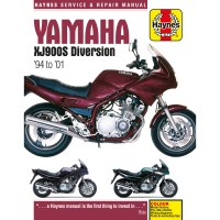 YAMAHA 900 XJ DIVERSION  -94/01 - REVUE TECHNIQUE ANGLAIS HAYNES - 4201-0372
