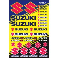 SUZUKI - KIT STICKERS UNIVERSEL - 4320-2151