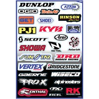 SPONSORS - KIT STICKERS UNIVERSEL - 4320-0712