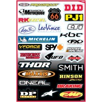 SPONSORS - KIT STICKERS UNIVERSEL - 4320-0713