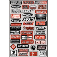 SPONSORS - KIT STICKERS UNIVERSEL - 4320-0030
