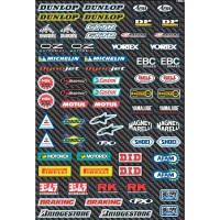 SPONSORS - KIT STICKERS UNIVERSEL - 4320-1352